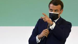 Macron warnt vor Artensterben