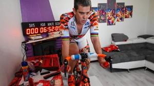Franzose mit Weltrekord auf dem Hometrainer