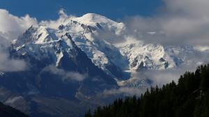 Zwei deutsche Bergsteiger erfrieren am Mont Blanc