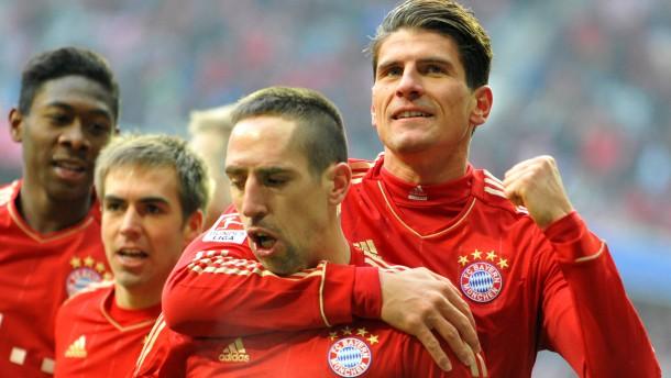 Bayern mit leichtem Spiel