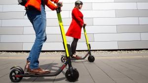 E-Scooter vor Durchbruch im Stadtverkehr