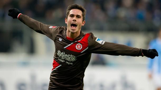 St. Pauli springt auf Relegationsplatz