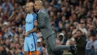 Guardiola und sein Team haben die Champions League fest im Visier.