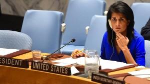 Mit Trumps Rotstift im Sicherheitsrat