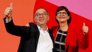 """Parteilinke warnt vor """"wachsweichen Formulierungen"""""""
