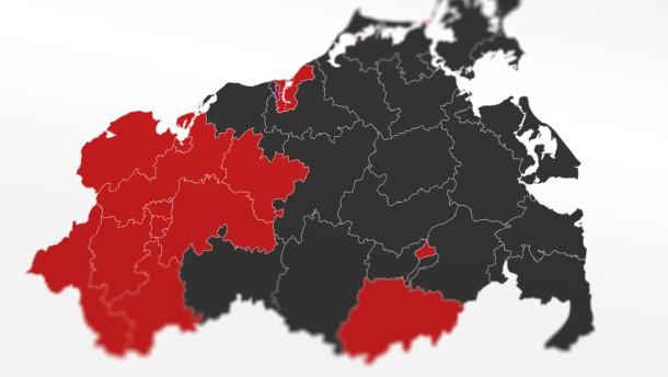 Alle Ergebnisse der Landtagswahl in Mecklenburg-Vorpommern