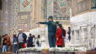 Taugt als Touristenattraktion:Szene aus Samarkand, der legendenumwobenen Stadt an der alten Seidenstraße