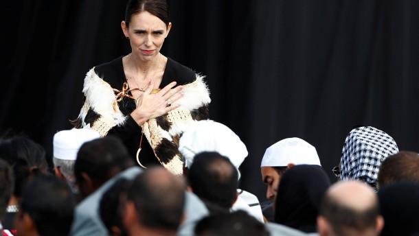 Neuseeland gedenkt der Opfer von Christchurch