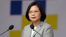 Taiwans Präsidentin wirft China Destabilisierung vor