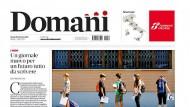 """Erstausgabe: das Titelblatt von """"Domani"""""""