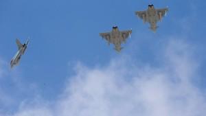 Zulieferer für Eurofighter fällt vorerst aus