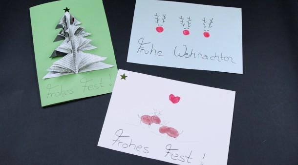 Adventskalender Weihnachtskarten Selber Basteln