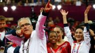 John Geddert im Jahr 2012 bei den Olympischen Spielen in London.