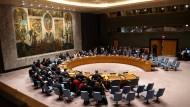 Der Sicherheitsrat der Vereinten Nationen wird am Sonntag tagen (Archivbild).