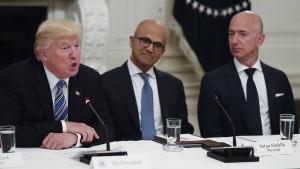 Trump schießt gegen Amazon