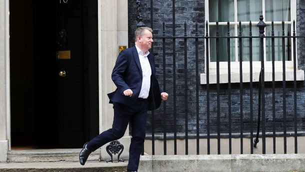 London droht indirekt mit Abbruch