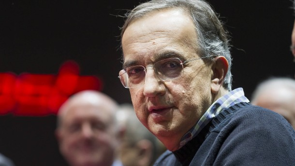 Langjähriger Fiat-Chef Marchionne ist tot