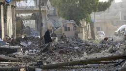 Mindestens 53 Tote bei Luftangriff auf Markt