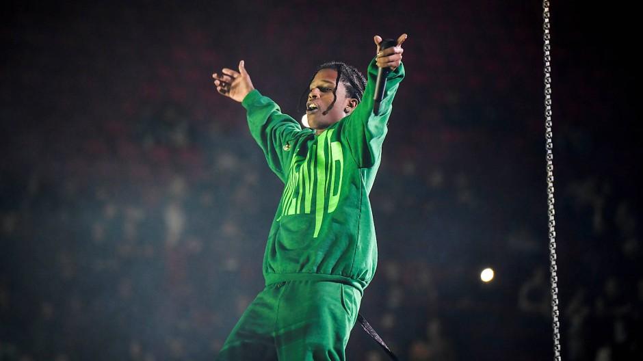 A$AP Rocky für Konzert zurück in Schweden