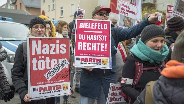 Wo kein Nazi hängt