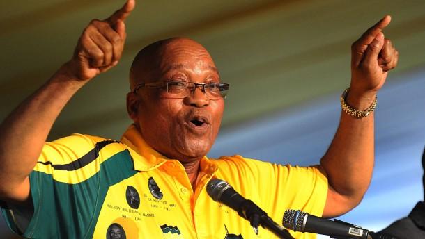 Kampf um Südafrikas Machtzentrum