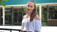 Geht schon bald studieren: Die erst 14 Jahre alte Mandy Hoffmann aus Peine.