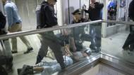 Massenpanik in überfülltem New Yorker Bahnhof