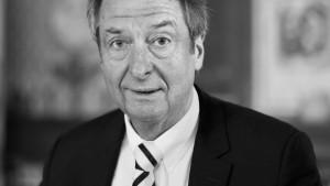 Ulrich Schröder stirbt im Alter von 66 Jahren