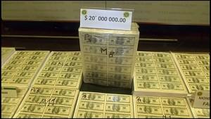 20 Millionen Dollar Falschgeld