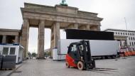Fanmeile in Berlin erwartet Hunderttausende