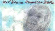 """""""Wolken im Himmel von Berlin"""": Lagerfeld zum Rücktritt Christian Wulffs. Klicken Sie auf das Bild, um die ganze Zeichnung zu sehen."""