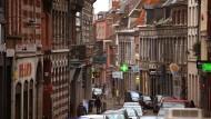 Idylle in der wallonischen Stadt Mons.