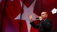 Wahlkämpfer Erdogan in Istanbul