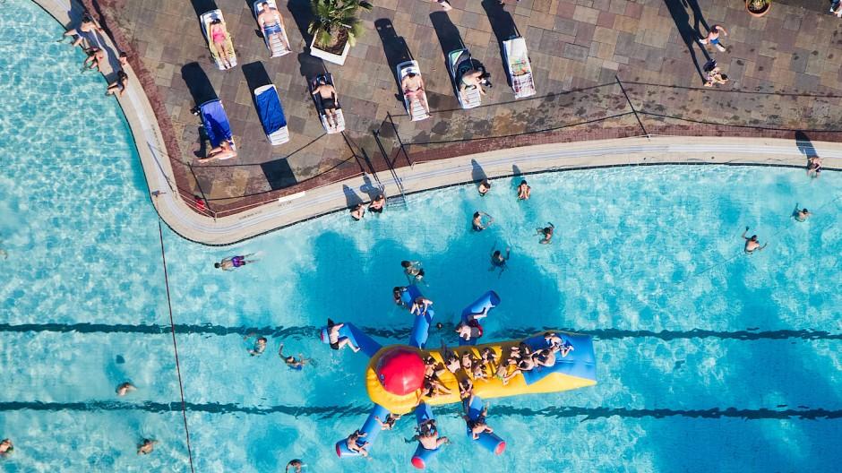 Tipp von Achim Wiese: Nach dem Sonnen erstmal langsam abkühlen und nicht direkt ins Wasser springen.