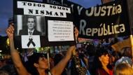 Zehntausende demonstrieren für Aufklärung im Fall Nisman