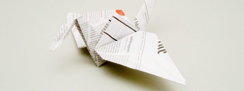origami f r die industrie alles beim falten design faz. Black Bedroom Furniture Sets. Home Design Ideas