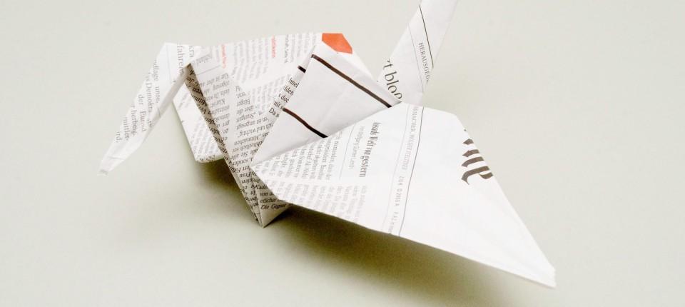 Häufig Origami für die Industrie: Alles beim Falten - Design - FAZ OK52