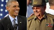 Amerika will Kuba von Terror-Liste streichen