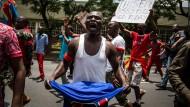 Dutzende Tote bei Protesten