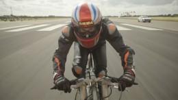 280 km/h – Mit dem Fahrrad