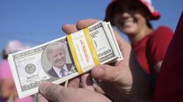 Der Dollar mag Trump nicht mehr
