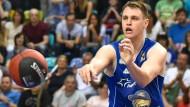 Das Ziel im Blick: Johannes Voigtmann will in Spanien seine Basketball-Karriere vorantreiben.