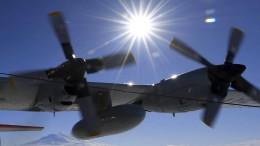 Chilenisches Militärflugzeug verschollen