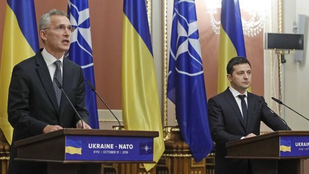 Nato geht noch engere Partnerschaft mit Ukraine ein