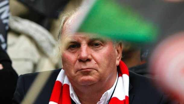 File photo of Bayern Munich President Uli Hoeness