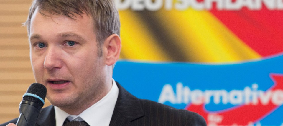 Haftbefehl Gegen Afd Spitzenkandidat André Poggenburg