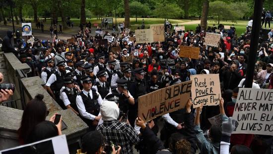 Massenproteste gegen Rassismus in London