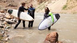 Was halten die Taliban vom Surfen, Afridun Amu?