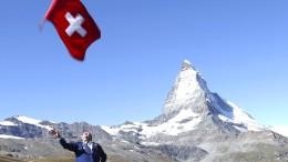 Die große Geldkiste in der kleinen Schweiz