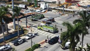 Sechs Tote bei Einsturz von Fußgängerbrücke